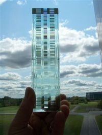 Cold Glass Sculpture